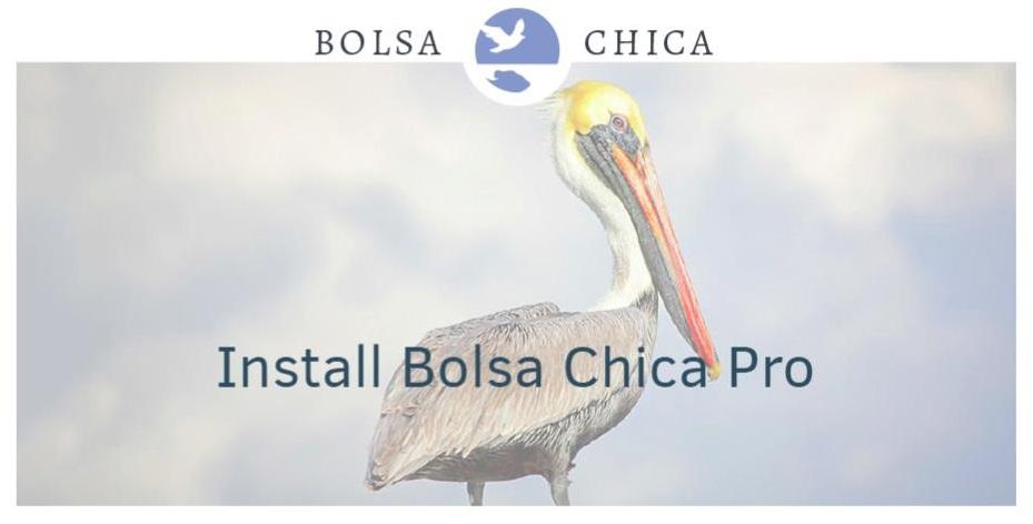 bolsa chica app screenshot