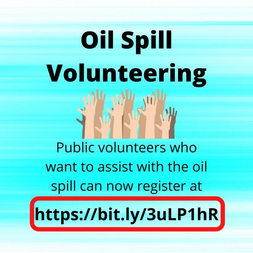 oil spill volunteering